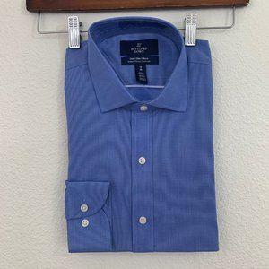 Tailored Buttoned Down Long Sleeve Dress Shirt